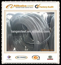 Weld steel wire galvanized wire rod with clean surface