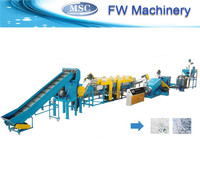 advanced technology agriculture PE/ PP film recycling washing line