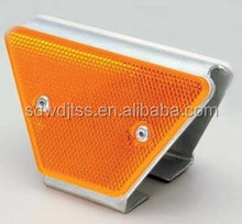 Guardrail delineator reflector road marking,double sides of reflector