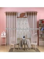 beutiful and elegent design ready made emboss fabric curtain