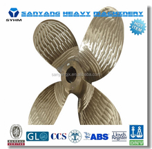 BV,CCS, ABS, DNV,LR,GL,RINA Approved Marine Bronze Propeller/ Ship Propeller/ Controllable Pitch Propeller (CPP)