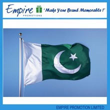 Hot selling outdoor new design pakistan flag