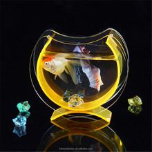 Fantasia personalizzati pesce serbatoio può essere posizionato foto, acquario serbatoio in plastica
