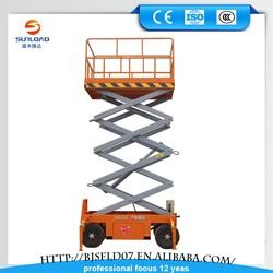 Factory Direct Sale Self Propelled Scissor Type Air Lift Platform