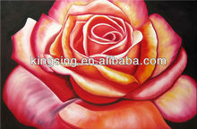 wholesale rose flower art design oil painting