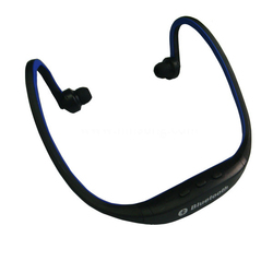 Factory direct sales sports earphone mp3/mp4 player headphone sports