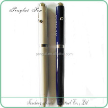 promotional twist Multifunction metal promotional pen with led light