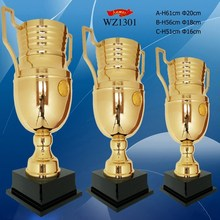 customized novel metal champion league trophy cup for awards