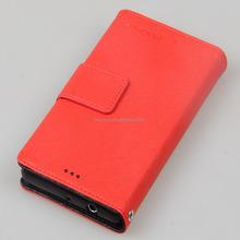 Artificial leather case-Kooso Korean Koo Book Same Color Phone Case for Sony Xperia Z1 Mini