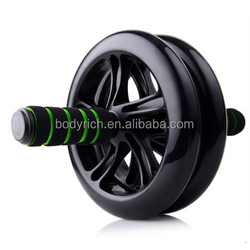 Double Function Trainer Ab Roller Exercise Wheel Roller