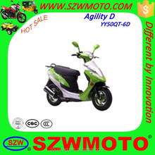 Good looking new design Agility D YY50QT-6D YY150T-6D scooter motorcycle with good price