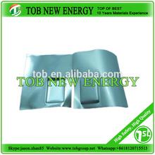 alta de aluminio laminado de cine para li batería de iones de los materiales de la bolsa