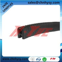 ISO9001 high performence waterproof EPDM sealing strip with RUBBER extrusion gasket
