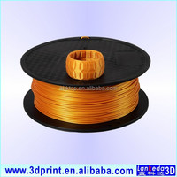 Top sale!!! PLA based 0.8KG, 1.75mm 1.75mm goldfill/silverfill/bronzefill/pure copperfill etc. metal filament for 3d printer