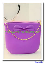 2013 Hot Selling Fashion Jelly Silicone Bag for Women/ladyies and girls