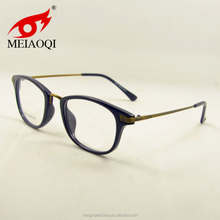 stylish acetate optical frame glasses metal temples acetate frame
