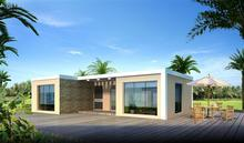 New design prefab modular guest house with great price