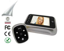 "3.5"" LCD high definition digital camera peephole"