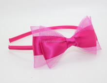 2015 New fashion big bow girls hairbands