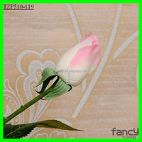 wedding decoration 5*45cm height pink artificial rose bud