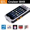 Cheap Cruiser BH9 android gps uhf rfid fingerprint 1D/2D outdoor 3g barcode scanner