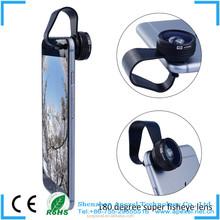 Apexel clip full screen clip cell phone 180 degree fisheye lens camera lens mobile phone optical lens for iphone6 APL-FCFE180