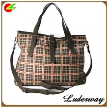 Trends beautiful ladies leather handbag for lady