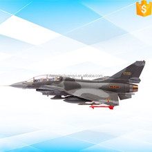 J-10 grey aircraft scale diecast model simulator toy