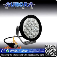 High power AURORA 5inch LED Round motorcycle led driving lights