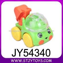 diseño 3 tire hacia atrás de dibujos animados coche de la construcción del huevo sorpresa juguetesdelcaramelo