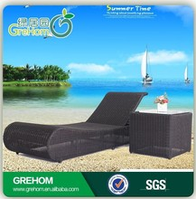 luxury backrest beach chair for heavy people