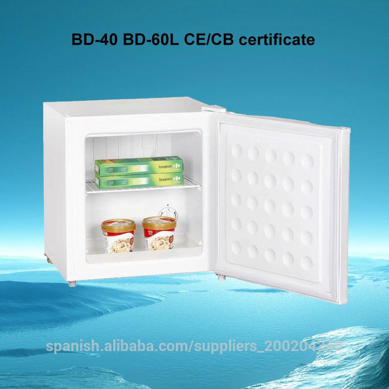 40l el ctrico de mini congelador vertical port til for Congelador vertical pequeno