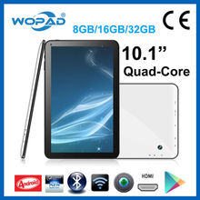 China Manufacturer 10.1 inch cheap android 4.4 quad core Tablet