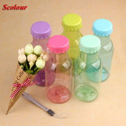 Scolour fashion New Portable Leak-proof Cycling Bicycle Bike Sport bottle Unbreakable my bottle Plastic Water Bottle Top Quality