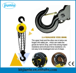 Manual chain pulley block, stainless steel chain block