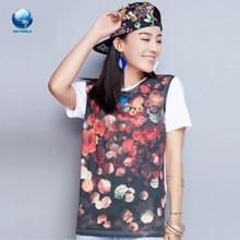 100 cotton t shirt&cheap t shirt printing&full print t shirts