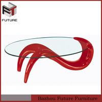 cheap furniture fiber glass coffee tables