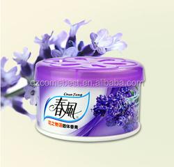 70g new design custimized cheap gel car air freshener