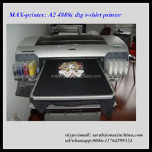 MAX-printer 4880c head A2 direct to garment printer dtg printer
