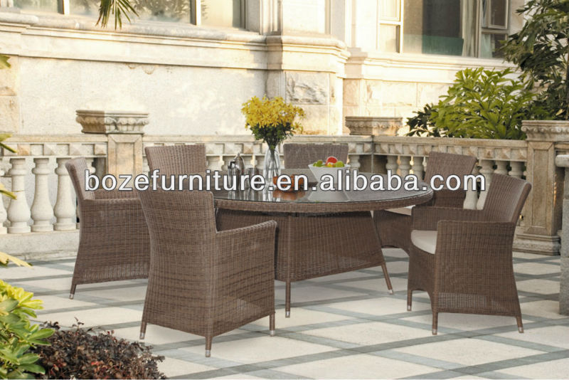 Outdoor Rattan dining sets/Poly rattan sets/garden furniture