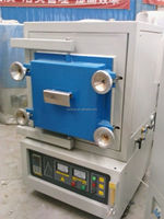 """Xinyu heat treatment box atmosphere furnace with ceramic firber chamber accept""""ESCROW """""""