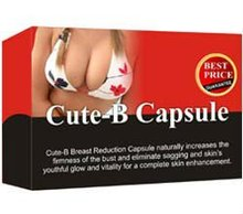 Breast Reduction without surgery - Cute-B Capsule