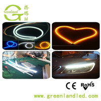 New Arrival 12V 60CM 85CM Flexible DRL LED Strip For Cars