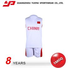 New Arrival New Design Elastic Band Basketball Jerseys