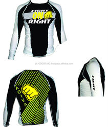RASHGUARD, KORAL, FIGHT, Custom, branded, Design, Bj,j Mma,