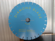 Diamond saw blades for wet cutting marble