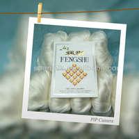 Super grade Mulberry silk fiber, 100% silk top for spinning from SPO