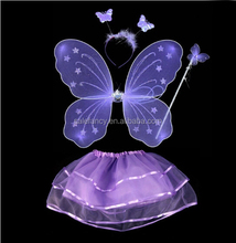 Angel wing children angel costume with wings girl fairy wing dress QFW-5079
