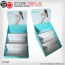 Gift counter top display box for advertising with full color printing