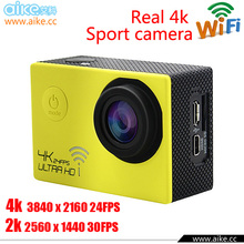 2015 New SJ4000 Style WiFi Ultra HD 4K Action Camera Waterproof 30M 2-inch Screen 12MP HD 1080P Mini Sports Cam Camcorder